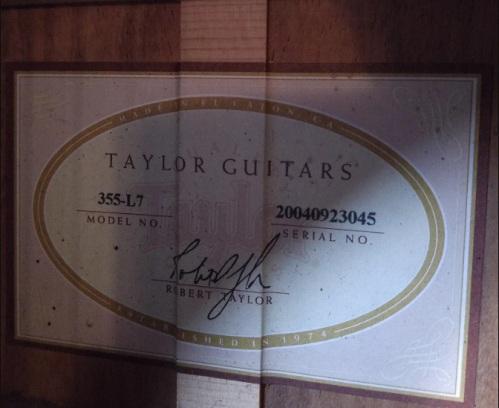 taylor355l712s